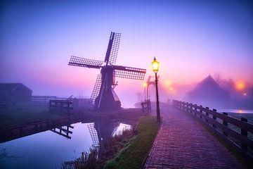 Moulin à vent sur le Zaanse Schans
