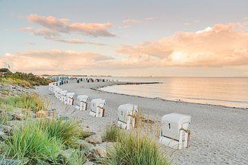 Baltisch strand Sierksdorf van Ursula Reins
