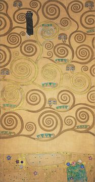 Werktekening voor de Stoclet-fries, deel 5, Gustav Klimt
