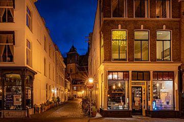 Leiden in Lockdown: Beschuitsteeg van Carla Matthee