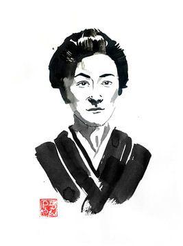 Edo-vrouw van philippe imbert
