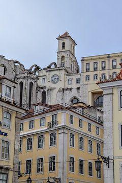Centrum van Lissabon van Kim de Been