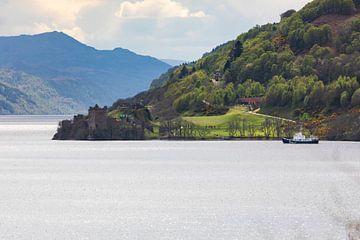 Scotland, Loch Ness: Urquhart Castle von Remco Bosshard