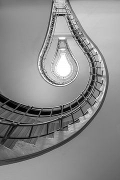 Glühbirne Treppe von Antwan Janssen