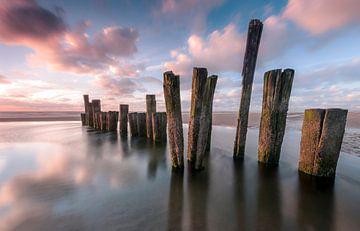 Wellenbrecher von Fotografie Egmond