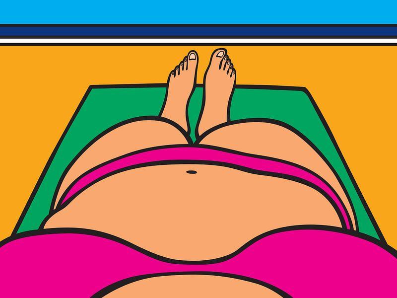 bikini at the beach van karen vleugel