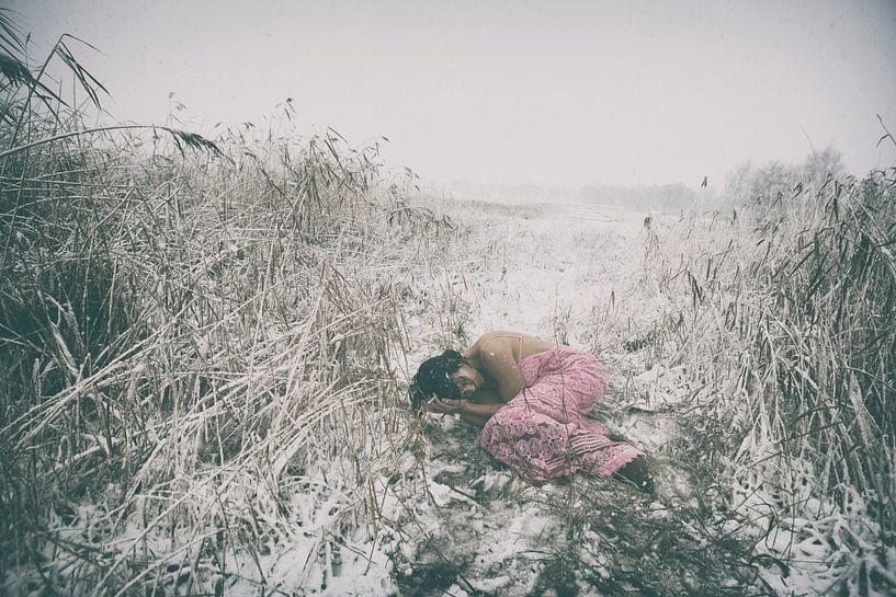 de sneeuwstorm van Peggy Saffrie