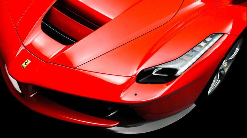 Ferrari LaFerrari | Supercar rouge sur Jesse Barendregt