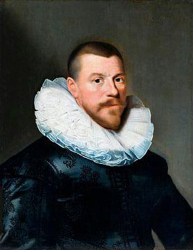 Porträt eines Mannes mittleren Alters, Paulus Moreelse