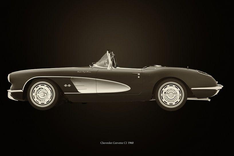 Chevrolet Corvette C1 van Jan Keteleer