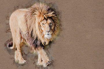Le roi lion (art) sur Art by Jeronimo