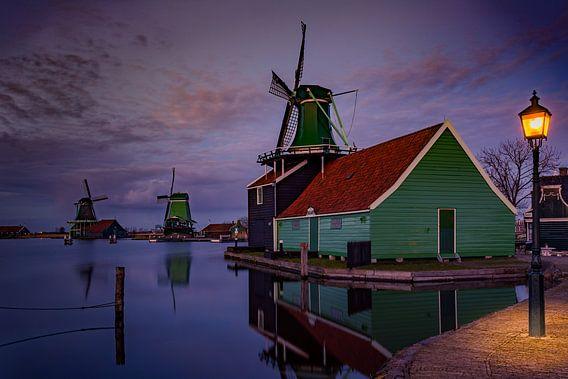 Light @ Zaanse Schans van Michael van der Burg