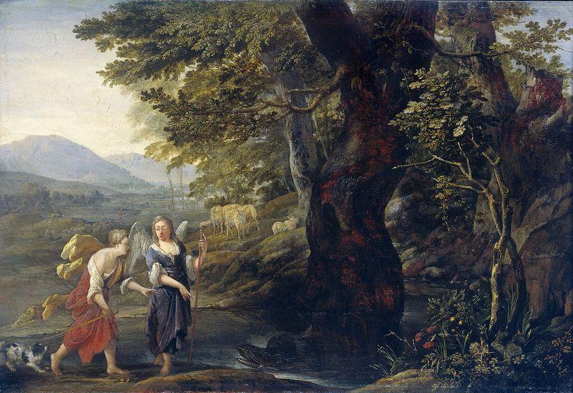 Tobias en de engel, Eglon van der Neer van Meesterlijcke Meesters
