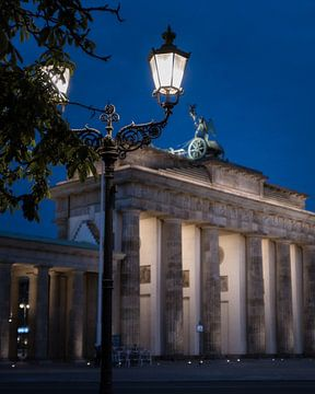 Brandenburger Tor 's nachts van wukasz.p