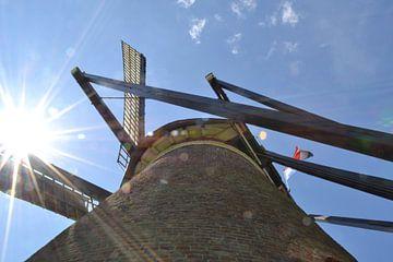 """molen """"De Roosdonck"""" in Nuenen op een mooie voorjaarsdag in Mei van tiny brok"""