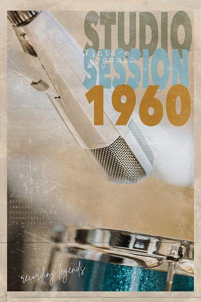 Studio Session 1960 van Bert-Jan de Wagenaar