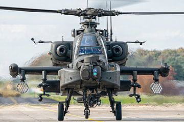 RNLAF AH-64D Apache van Marc Hederik Fotografie