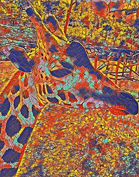 Kunst Giraf van Vaduchi ..