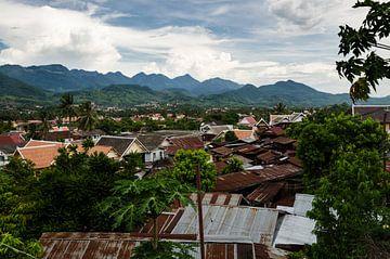 Uitzicht Luang Prabang Laos von Eline Willekens