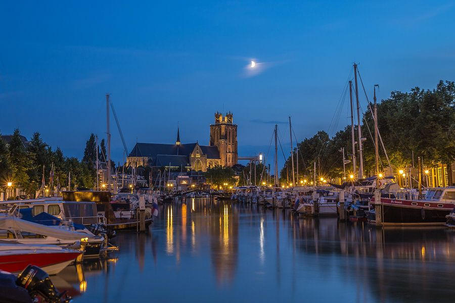 Historical Dordrecht in the Blue Hour