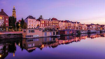 Middelburg bei Sonnenaufgang von Dirk van Egmond