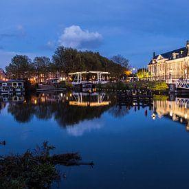 Prachtige weerspiegeling van de Rijksmunt in Utrecht van De Utrechtse Internet Courant (DUIC)