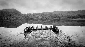 Alte Anlegestelle auf Ardnamurchan von Pascal Raymond Dorland