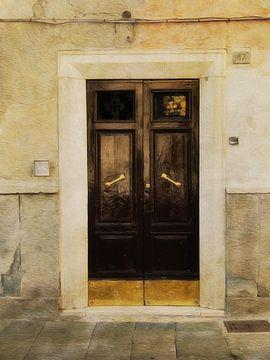 Doors serie - Italia 3 van Joost Hogervorst