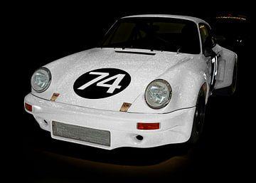 Porsche 911 Carrera RSR 3.0 in experimenteel wit van aRi F. Huber