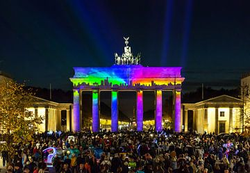 Brandenburger Tor in een bijzonder licht van Frank Herrmann