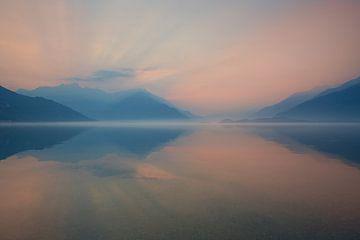 Matinée au Lac de Côme (Lago di Como, Domaso) sur Annie Jakobs