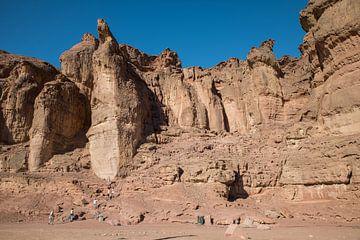 rotsformatie in timna nationaal park in israelel near Eilat von Compuinfoto .