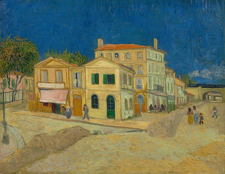 Vincent van Gogh. Het gele huis,  1888 van 1000 Schilderijen