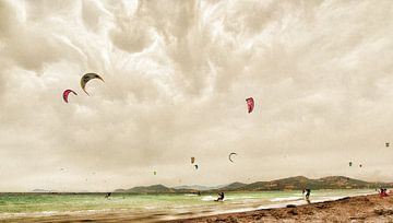 Kitesurfing von Ed Vroom
