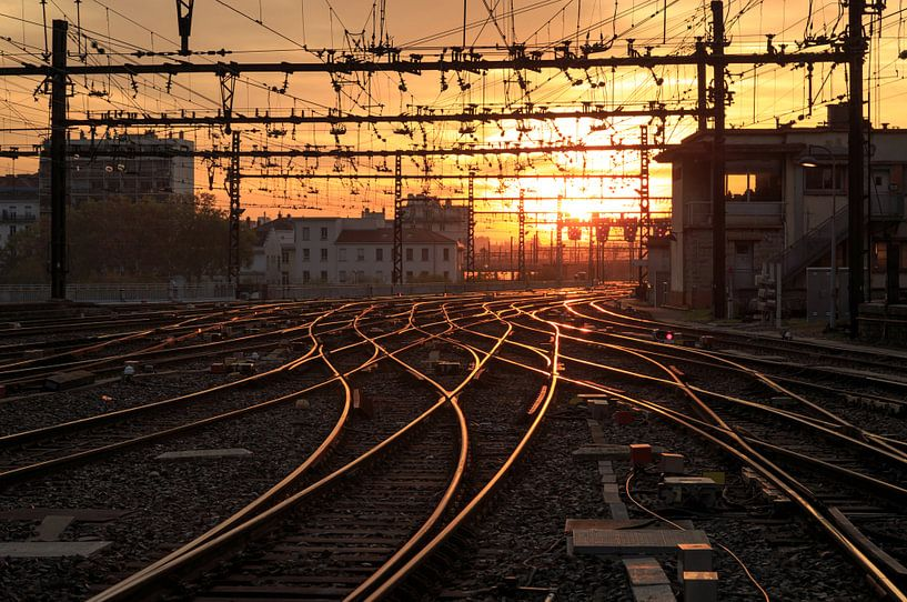 Railaway van Sander van der Werf