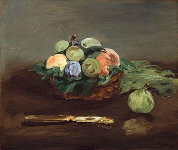 Korb mit Obst, Édouard Manet
