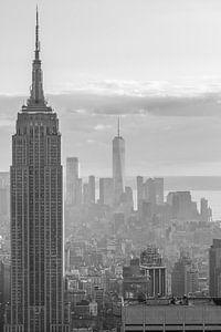 New York City View Black&White I