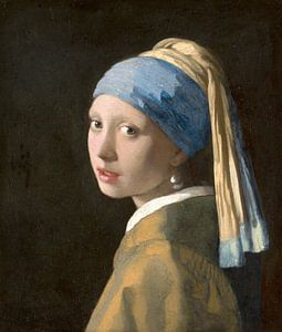 Das Mädchen mit dem Perlenohrgehänge - Vermeer Gemälde