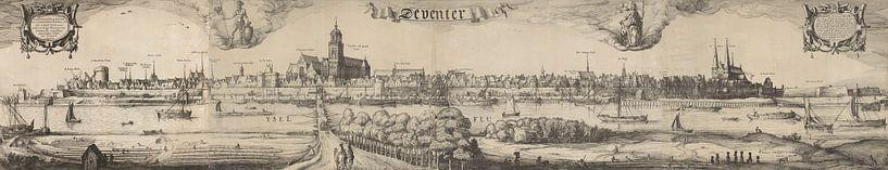 Steckbrief von Deventer, Claes Jansz. Visscher (II), 1615 von Meesterlijcke Meesters