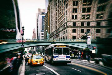 Straten van New York van Roy van Poppelen