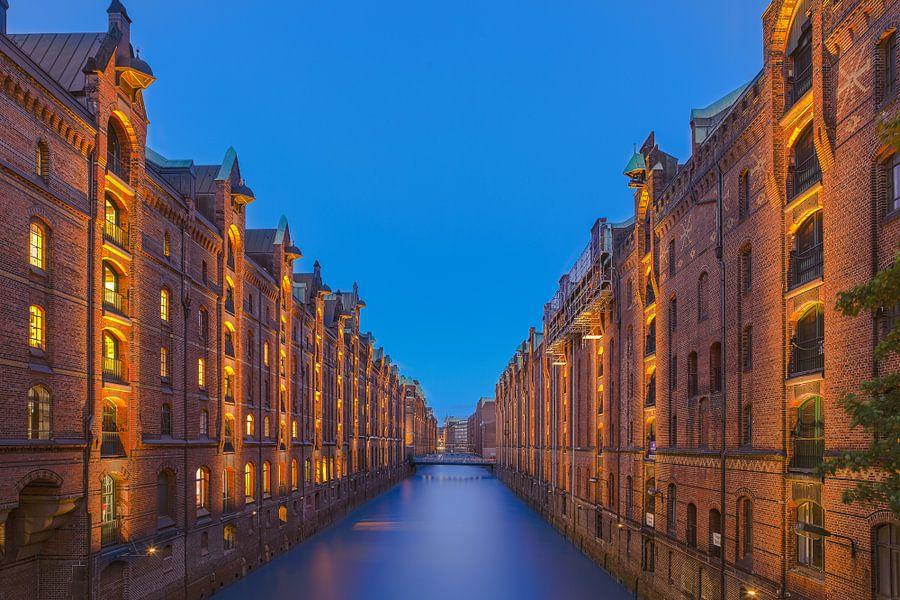 Havenstad Hamburg van Sander Hupkes