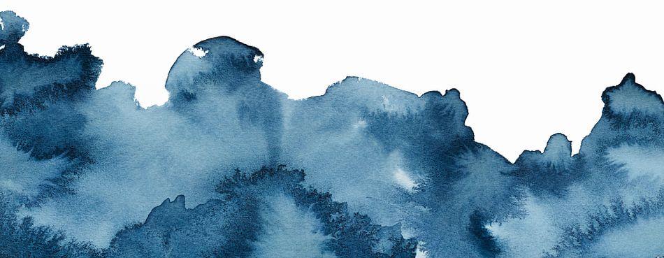 Let the ocean in van Watercolor Wall