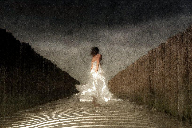 Lady in White sur Jacqueline Lodder