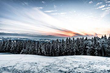 Sonnenuntergang im Allgäu von MindScape Photography