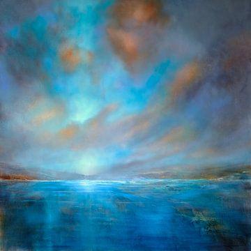 Blaue Weite von Annette Schmucker