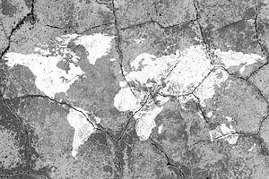 Weltkarte van