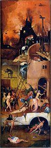 Jheronimus Bosch. De Hooiwagen, rechterpaneel