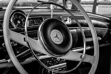 Detail Mercedes oldtimer van Clazien Boot