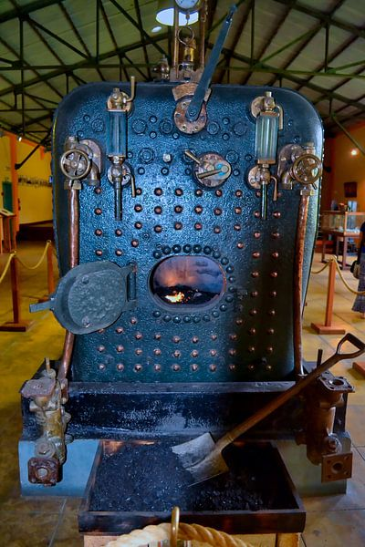 Dampfzug Vintage Mauritius von Faucon Alexis