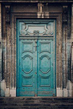 Old door sur Sander van der Werf